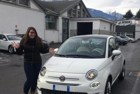 Eleonora ha scelto Fiat 500!!: Immagine