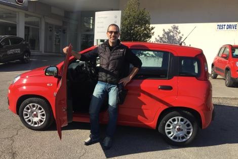 Pablo ha scelto Fiat Panda ..: Immagine