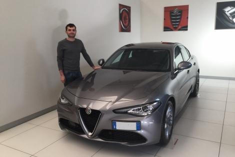 Consegna Alfa Romeo Giulia